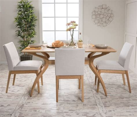 contemporary kitchen chairs 5 dining set wood table 4 chair kitchen mid century 2471