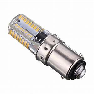 Ampoule Led 220v : ba15d 2 6w 64 3014 smd led ampoule light lamp silicone ~ Edinachiropracticcenter.com Idées de Décoration