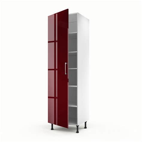 meuble demi colonne cuisine meuble de cuisine colonne 1 porte griotte h 200 x l