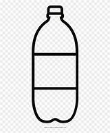 Bottle Coloring Sauce Icon Glass Water Transparent Ketchup Soda Pngio sketch template