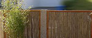Bambus Als Sichtschutz : sichtschutz bzw sichtschutzelemente aus bambus finden sie bei der zaunfabrik natur in ~ Eleganceandgraceweddings.com Haus und Dekorationen