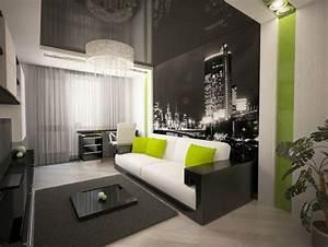 Wände Gestalten Farbe : w nde im wohnzimmer gestalten ~ Sanjose-hotels-ca.com Haus und Dekorationen