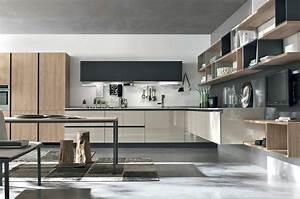 Cucina Moderna Penisola Amazing Cucina Moderna Con Isola Piccola Open Space With Cucine Moderne