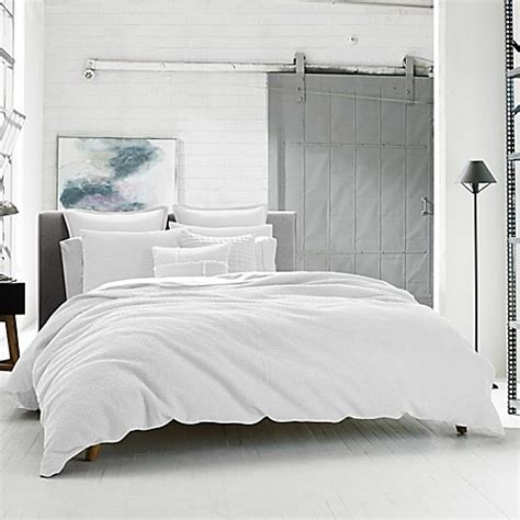 kenneth cole duvet cover kenneth cole reaction home waffle duvet cover bed bath