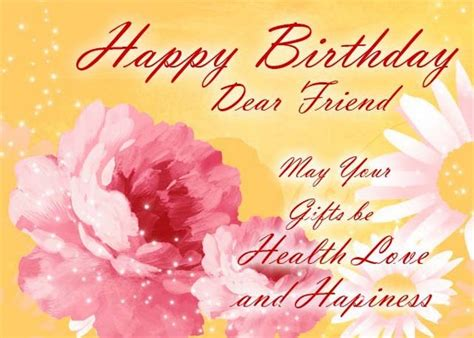 Birthday cards for women friends. Happy birthday friend images with wishes and messages