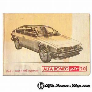 Alfetta Gtv 2 0 User Manual