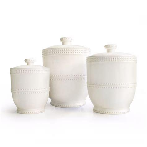 white ceramic kitchen white canister set storage kitchen jar modern 3 piece
