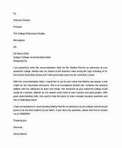Sample Letter Of Recommendation For Graduate School Admission Free 7 Sample College Recommendation Letter Templates In