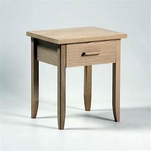 Chevet Bois Massif : table de chevet en bois massif brin d 39 ouest ~ Teatrodelosmanantiales.com Idées de Décoration