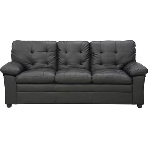buchannan faux leather sofa walmart com