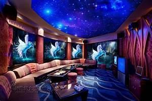 Home 3D Wallpaper Living Room Mural Roll Modern Fantasy ...