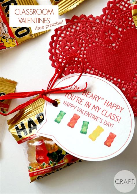 We've rounded up 35 fun diy card designs to express your. I'm beary happy you're in my class! - C.R.A.F.T.