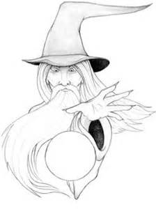 Free Wizard | Free Wizard Tattoo Designs | Tattoos | Pinterest | Wizard tattoo, Dragon tattoo
