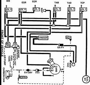 Diagram Of Vacuum Lines For 1985 V6 Ford Ranger