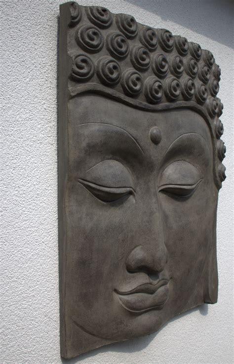 garten im quadrat buddha wandbild relief f 252 r den garten zwei gr 246 223 en