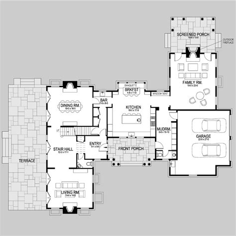style floor plans cape cod shingle style lake home exterior