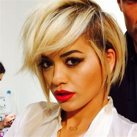 Rita Ora Gets An Edgy New Haircut Rita Ora Haircuts And