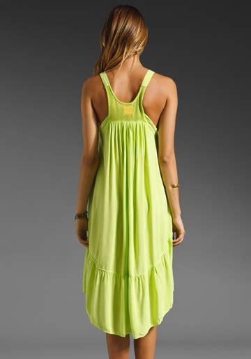 Chartreuse Color Dresses