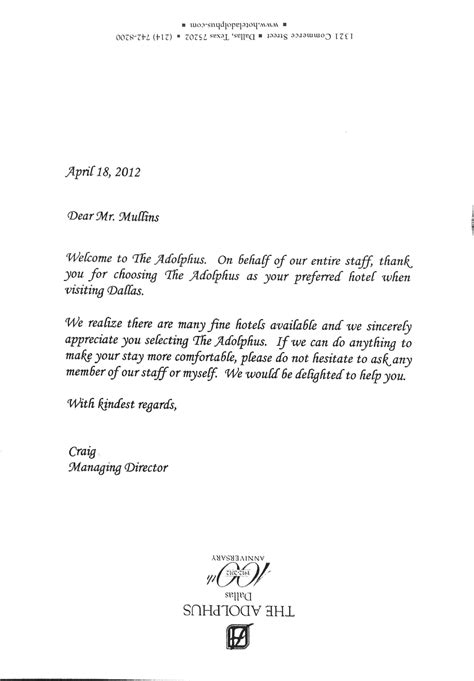 welcome letter template business welcome letter sle the letter sle