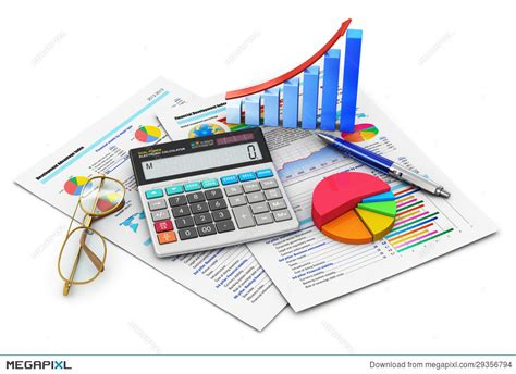 Library of accounting finance banner black and white png ...