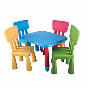 Table Enfant Avec Chaise : table avec chaise enfant meilleur chaise gamer avis prix ~ Teatrodelosmanantiales.com Idées de Décoration
