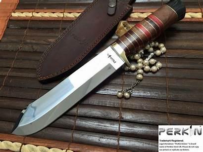 Knife Hunting Handmade Steel Knives J2 Perkin