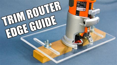 Palm Router Jig