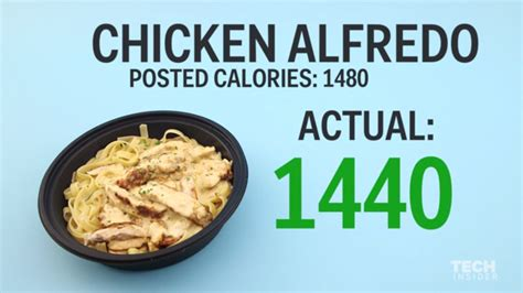 olive garden calories how many calories are in fast food meals business insider