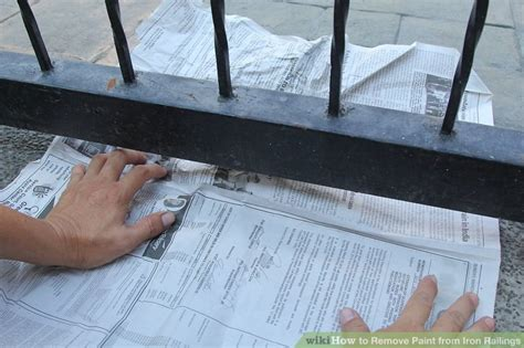 How To Remove Paint From Iron Railings 9 Steps (with