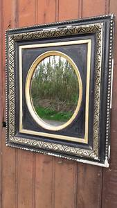 Miroir Cadre Noir : cadre miroir epoque napoleon iii noir et or france fin xixem catawiki ~ Teatrodelosmanantiales.com Idées de Décoration