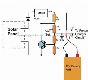 Battery Schematic Diagram : make this solar powered fence charger circuit homemade ~ A.2002-acura-tl-radio.info Haus und Dekorationen