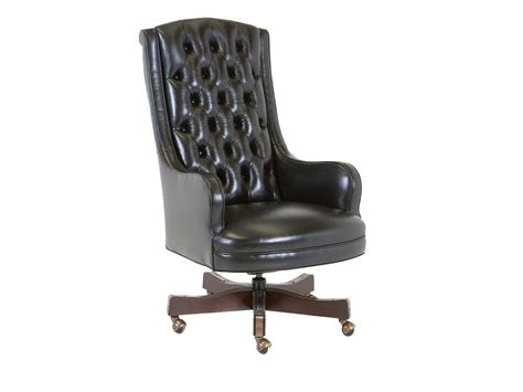 classic leather justice executive office swivel tilt chair