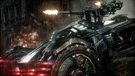 Official Batman Arkham Knight  Batmobile Battle Mode