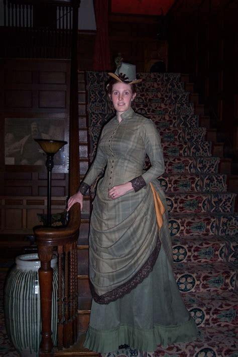 custom  reproduction  victorian day dress