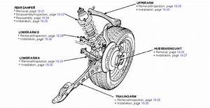 1994 Honda Civic Suspension Diagram  Honda  Auto Parts Catalog And Diagram