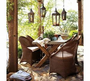 pottery barn rustic wicker outdoor furniture interior With barnhouse furniture