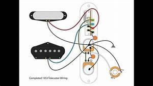 53  U0026quot Blackguard U0026quot  Tele Wiring Scheme - Youtube