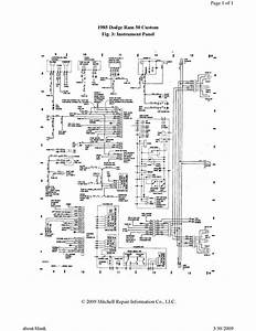 1987 Dodge Ram Wiring Diagram