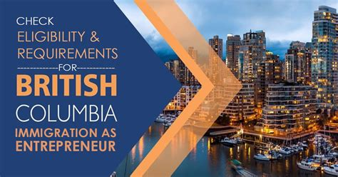 Check Eligibility Requirements for British Columbia ...