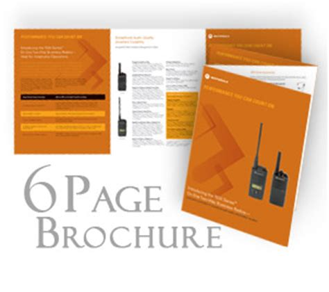 8 5 X 11 Folded 6 Page Brochure Template Adobe Quot Digital 6 Page Brochure Printing Fast Turnaround