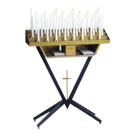 candelieri votivi candeliere votivo elettrico con candele ad innesto