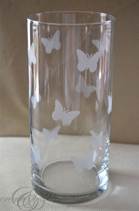 faux etched glass create  babble