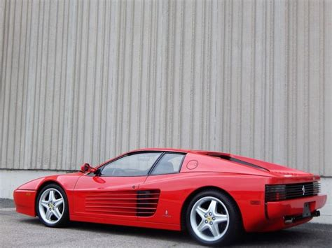 Your destination for buying ferrari 512 tr. 1993 FERRARI 512 TR FOR SALE - Classic 1993 Ferrari Testarossa