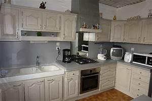 rnover cuisine rustique agrandir la cuisine rustique et With marvelous meuble de cuisine en bois rouge 6 com moderniser cuisine rustique