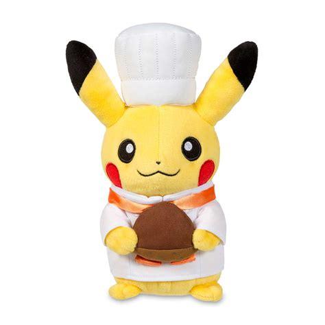 baby bed pikachu celebrations plush pastry chef pokémon center