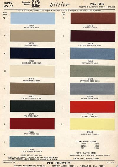 original paint colors for cars model a ford original paint colors