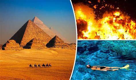egypt holidays tourists warned  evacuate  terror