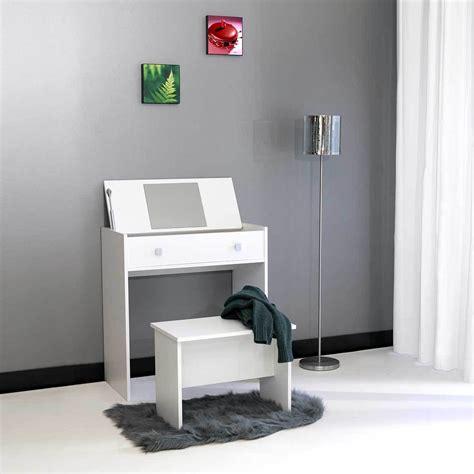 Acheter Une Commode by Coiffeuse Abattant Avec Miroir Et Banc Blanc 2075a2121a17