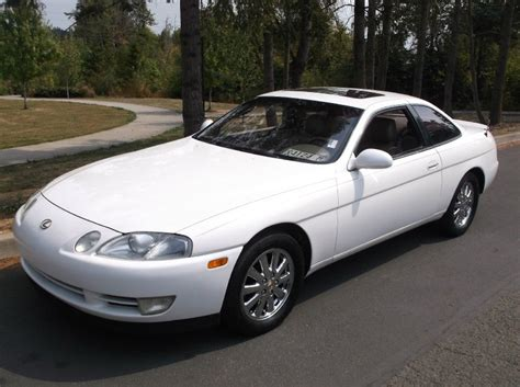 lexus coupe white 1992 lexus sc 400 coupe auto white runs great must see