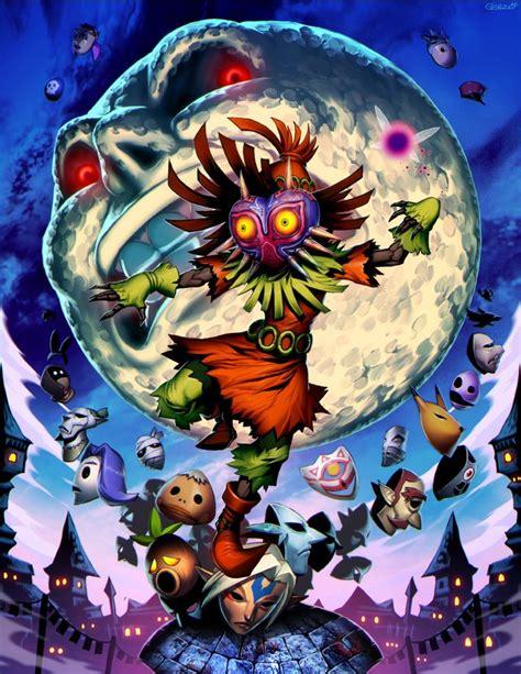 Zelda Majoras Mask By Genzoman Digital Art Drawings